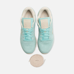 Женские кроссовки Reebok Classic Leather Suede Crystal Blue/Paper White фото- 4