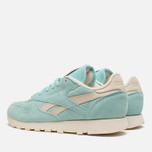 Женские кроссовки Reebok Classic Leather Suede Crystal Blue/Paper White фото- 2