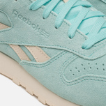 Женские кроссовки Reebok Classic Leather Suede Crystal Blue/Paper White фото- 7