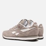 Женские кроссовки Reebok Classic Leather Suede Solid Grey/White фото- 2