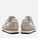 Женские кроссовки Reebok Classic Leather Suede Solid Grey/White фото- 3