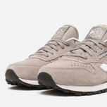 Женские кроссовки Reebok Classic Leather Suede Solid Grey/White фото- 5