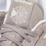 Женские кроссовки Reebok Classic Leather Suede Solid Grey/White фото- 8