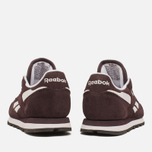 Женские кроссовки Reebok Classic Leather Suede Urban Plum/White фото- 3