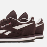 Женские кроссовки Reebok Classic Leather Suede Urban Plum/White фото- 6