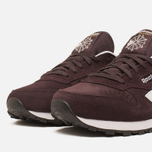 Женские кроссовки Reebok Classic Leather Suede Urban Plum/White фото- 5