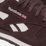 Женские кроссовки Reebok Classic Leather Suede Urban Plum/White фото- 7