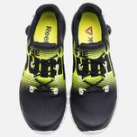 Reebok ZPump Fusion Women's Sneakers Black/Yellow photo- 4