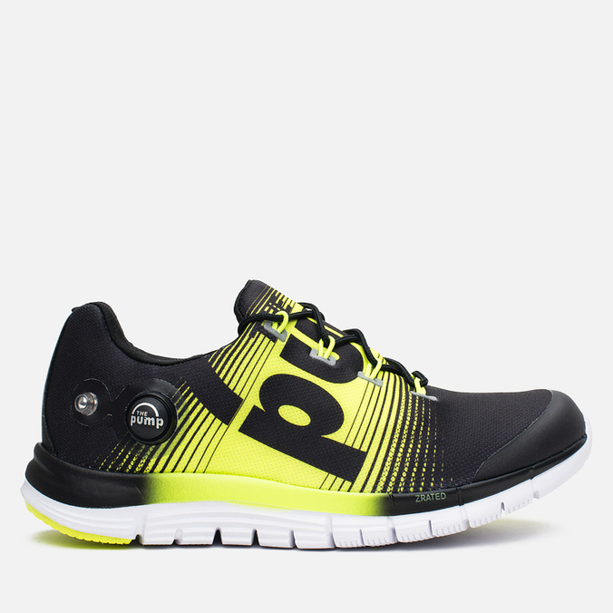Reebok ZPump Fusion Women's Sneakers Black/Yellow