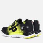 Reebok ZPump Fusion Women's Sneakers Black/Yellow photo- 2