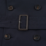 Aquascutum Longford Packaway Double Breasted Men`s Trench Coat Navy photo- 8
