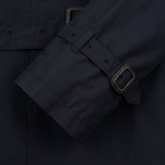 Aquascutum Longford Packaway Double Breasted Men`s Trench Coat Navy photo- 7