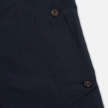 Aquascutum Longford Packaway Double Breasted Men`s Trench Coat Navy photo- 6