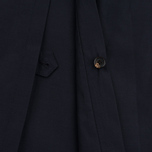 Aquascutum Longford Packaway Double Breasted Men`s Trench Coat Navy photo- 5