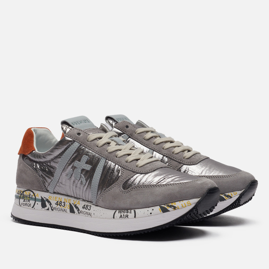 Женские кроссовки Premiata Tris 5403 Grey