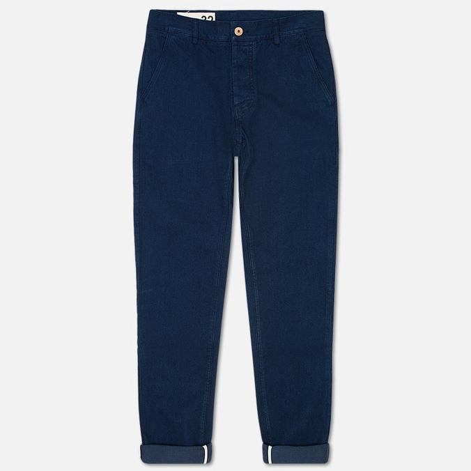 Мужские брюки Bleu De Paname Civile Denim Indigo
