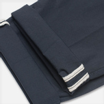 Мужские брюки C.P. Company Garment Dyed Stretch Poplin Dark Blue фото- 5