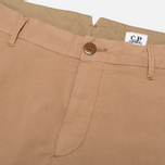 Мужские брюки C.P. Company Garment Dyed Stretch Poplin Dark Sand фото- 2