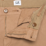 Мужские брюки C.P. Company Garment Dyed Stretch Poplin Dark Sand фото- 4