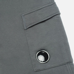 Мужские брюки C.P. Company Light Fleece Pocket Lens Grey фото- 1