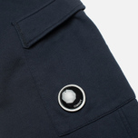 Мужские брюки C.P. Company Light Fleece Pocket Lens Navy фото- 1
