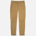 Мужские брюки C.P. Company Stretch Poplin Cargo Dark Sand фото- 0