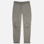C.P. Company Stretch Poplin Cargo Men`s Trousers Grey photo- 0