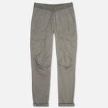 Мужские брюки C.P. Company Stretch Poplin Cargo Grey фото- 0