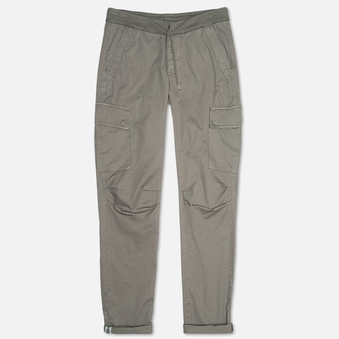 C.P. Company Stretch Poplin Cargo Men`s Trousers Grey