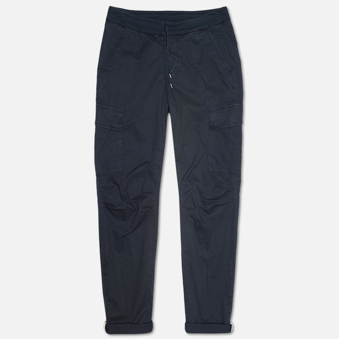 Мужские брюки C.P. Company Stretch Poplin Cargo Navy