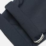 Мужские брюки C.P. Company Stretch Poplin Cargo Navy фото- 4