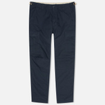 Мужские брюки Carhartt WIP Aviation Columbia Ripstop Duke Blue Rinsed фото- 0