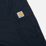 Мужские брюки Carhartt WIP Aviation Columbia Ripstop Duke Blue Rinsed фото- 4