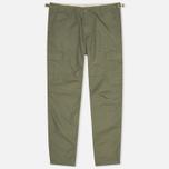 Мужские брюки Carhartt WIP Aviation Columbia Ripstop Leaf Rinsed фото- 0