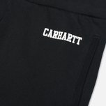 Carhartt WIP College Sweat Men`s Trousers Black/White photo- 2