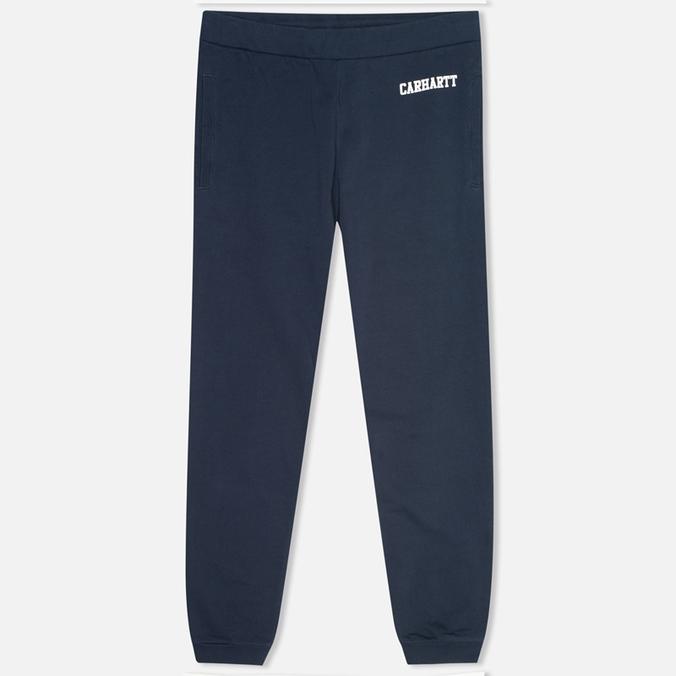 Мужские брюки Carhartt WIP College Sweat Duke Blue/White
