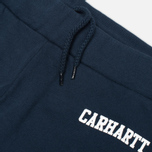 Мужские брюки Carhartt WIP College Sweat Duke Blue/White фото- 1