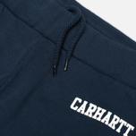 Мужские брюки Carhartt WIP College Sweat Duke Blue/White фото- 1