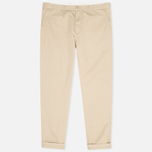 Мужские брюки Carhartt WIP Johnson Questa Twill Safari Rinsed фото- 0