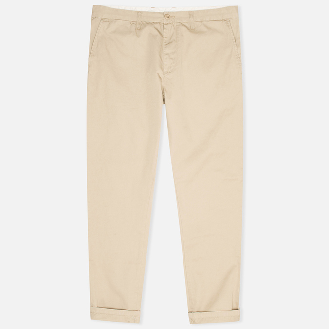 Мужские брюки Carhartt WIP Johnson Questa Twill Safari Rinsed