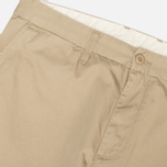 Мужские брюки Carhartt WIP Johnson Questa Twill Safari Rinsed фото- 3