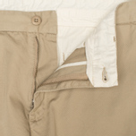 Мужские брюки Carhartt WIP Johnson Questa Twill Safari Rinsed фото- 2