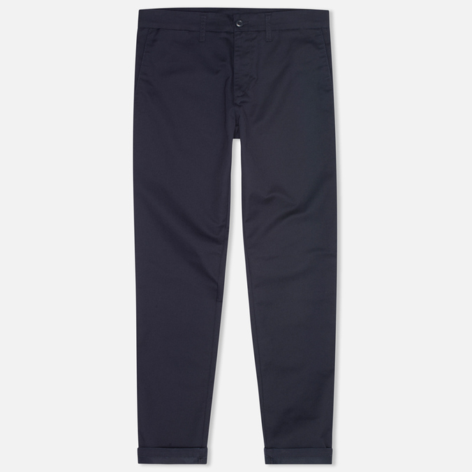 Мужские брюки Carhartt WIP Sid Lamar Stretch Twill Duke Blue Rinsed