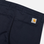 Мужские брюки Carhartt WIP Sid Lamar Stretch Twill Duke Blue Rinsed фото- 2