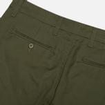 Мужские брюки Carhartt WIP Sid Lamar Stretch Twill Leaf Rinsed фото- 3