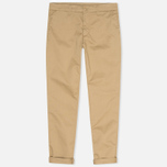 Мужские брюки Carhartt WIP Sid Lamar Stretch Twill Leather Rinsed фото- 0
