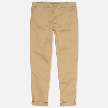 Мужские брюки Carhartt WIP Sid 8.6 Oz Leather Rinsed