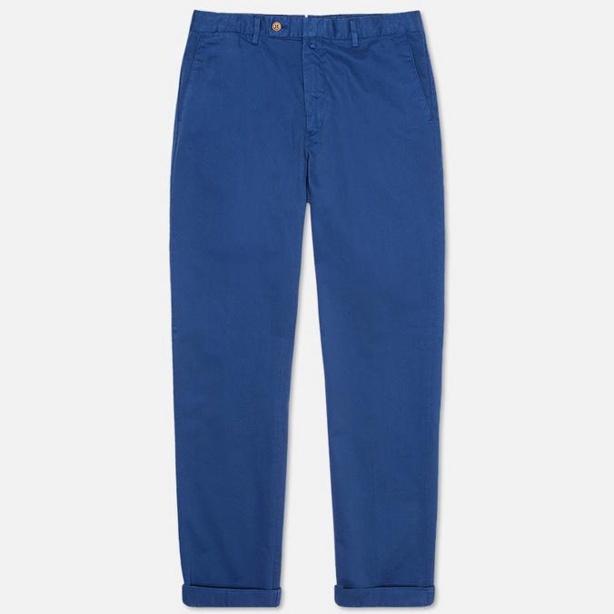 Hackett Sanderson Tailored Chino Men`s Trousers Marine