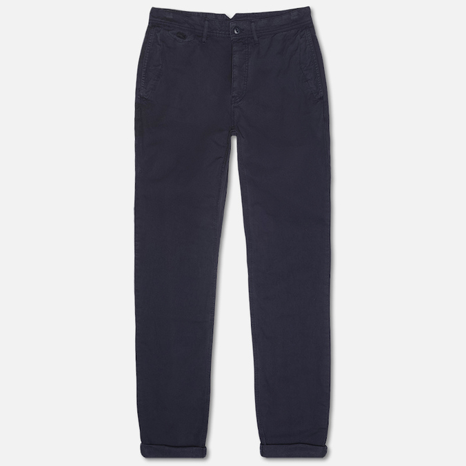 Lacoste Live Chino Men`s Trousers Navy Blue