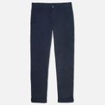 Мужские брюки Lacoste Slim Fit Chino Marine фото- 0
